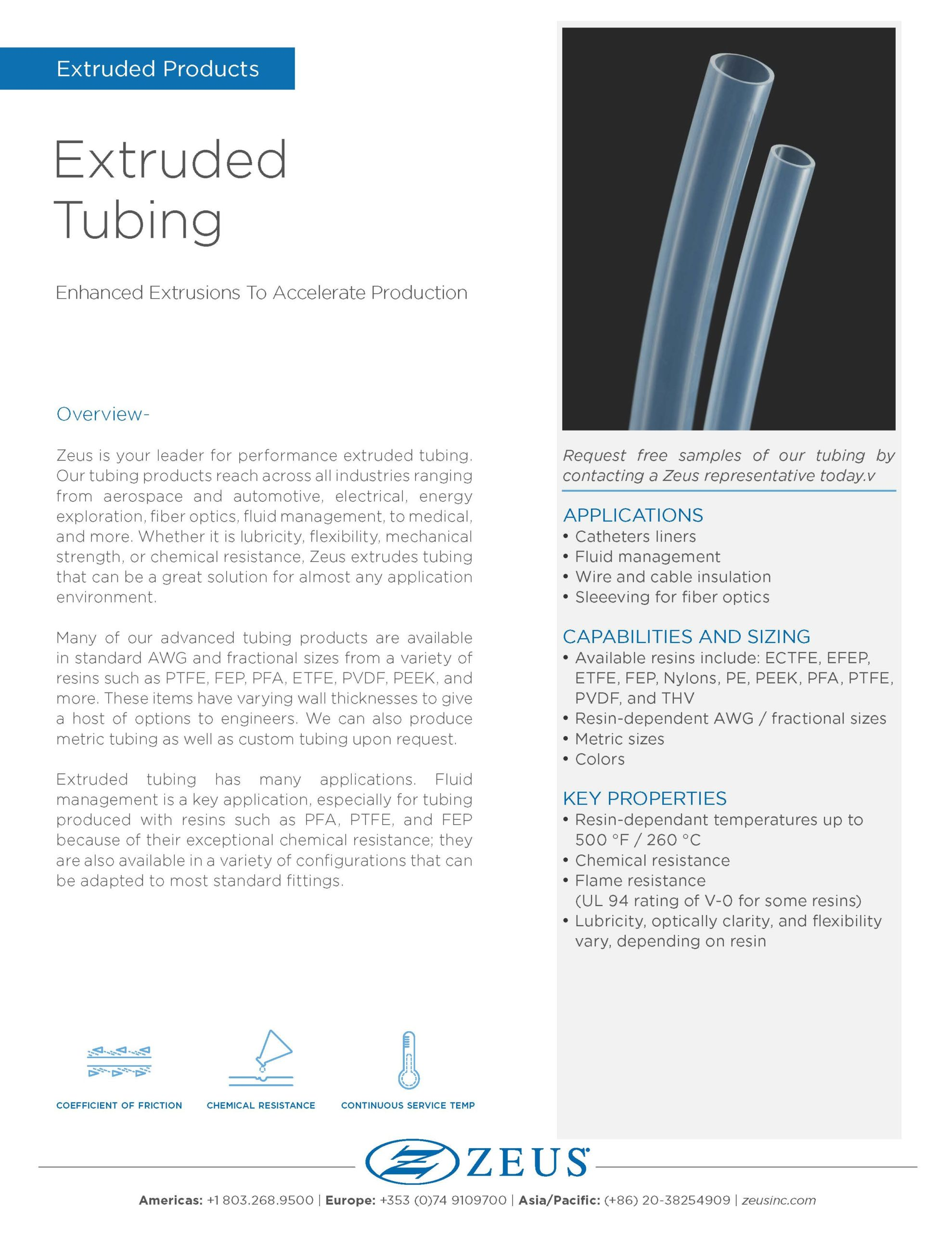 Extruded Tubing